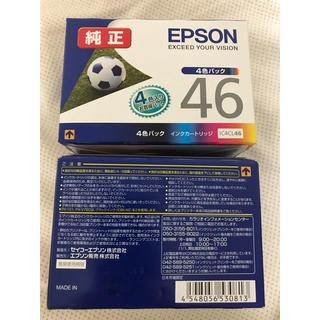 エプソン(EPSON)のEPSON純正インクパック46 5セット(その他)