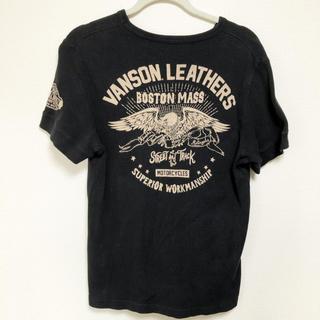 VANSON - VANSON   バンソン Tシャツ ワッフル