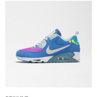 UNDEFEATED - undefeated air max 90 blue nike