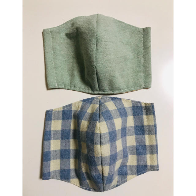 防塵マスク 規格 l / ハンドメイド 立体型インナーますく2枚組の通販