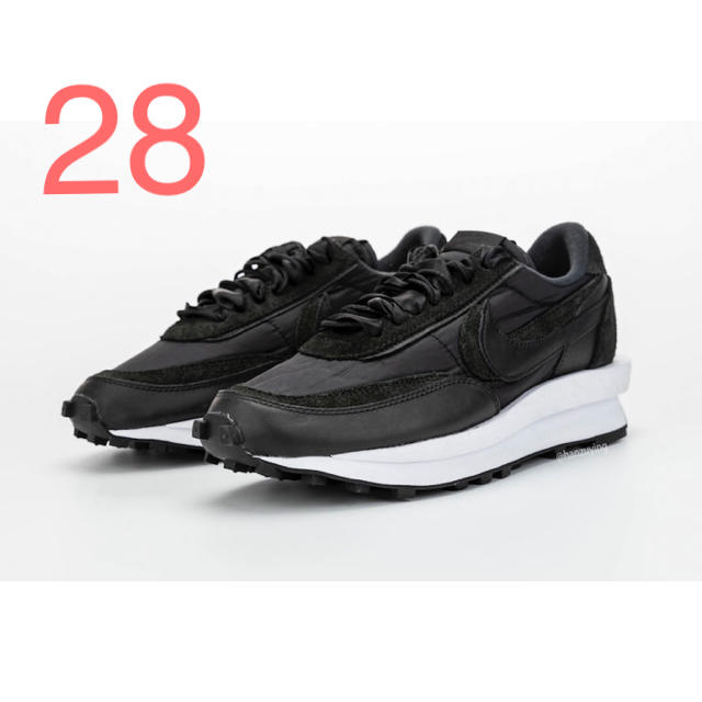 NIKE(ナイキ)の28 サカイ ナイキ LDVワッフル ブラック メンズの靴/シューズ(スニーカー)の商品写真