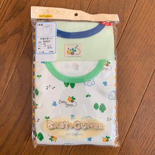 グンゼ(GUNZE)のベビーグンゼ 半袖丸首シャツ  90サイズ(Tシャツ/カットソー)