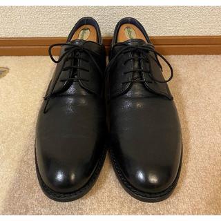 アルフレッドバニスター(alfredoBANNISTER)のアルフレッドバニスター 42 黒 ブラック グッドイヤーウェルト プレーントゥ(ドレス/ビジネス)