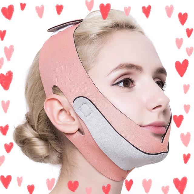 マスク 肌荒れ 頬 、 自宅で小顔エステ☆小顔ベルト☆リフトアップ☆フェイスベルト☆の通販