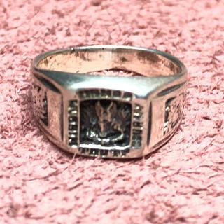 SILVER925 ホンダリング ピンキー シルバー925 リング  指輪 銀(リング(指輪))
