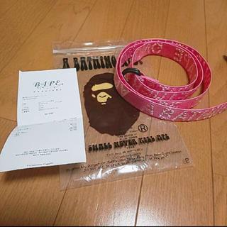 アベイシングエイプ(A BATHING APE)のA BATHING APE 今日限定3000円(ベルト)