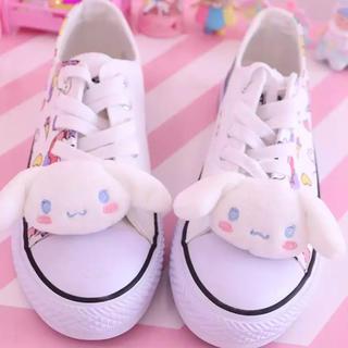 シナモロール - 〖激安〗新品 シナモロール 靴 バックルアクセサリー✦可愛い サンリオ