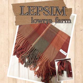レプシィム(LEPSIM)のLEPSIM*チェックマフラー(マフラー/ショール)