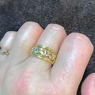 ネコちゃんのk18リング(リング(指輪))