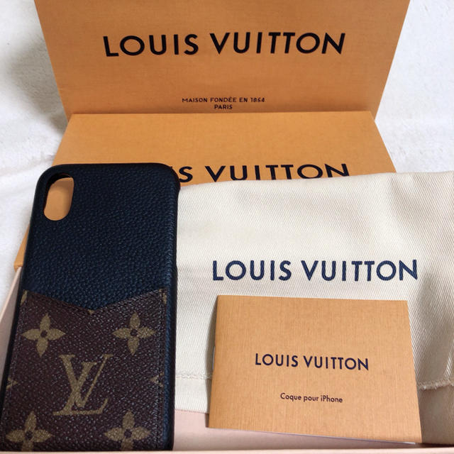 LOUIS VUITTON - LOUIS VUITTON iphoneケース バンパー x/xs対応の通販