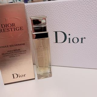 ディオール(Dior)のdiorプレステージ ソヴレーヌオイル30ml(美容液)