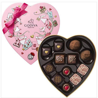 チョコレート(chocolate)のゴディバ クロニクル スウィートハート チョコレート ギフト 高級チョコ(菓子/デザート)