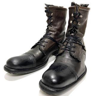 アルフレッドバニスター(alfredoBANNISTER)の【alfredoBANNISTER】約25.5cm ブーツ ハイカット メンズ(ブーツ)
