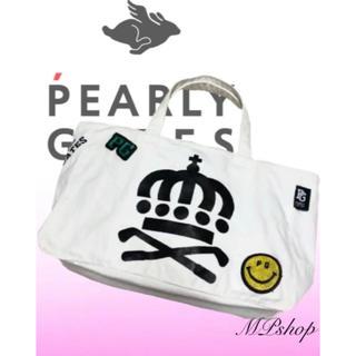 パーリーゲイツ(PEARLY GATES)の大人気完売品✨ 美品♡パーリーゲイツ ニコちゃん カートバッグ  ラウンドバッグ(バッグ)