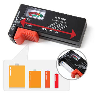 送料無料#新品#バッテリーテスター#電池の残量チェッカー#電池チェッカー(防災関連グッズ)