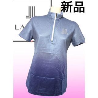 ランバン(LANVIN)の試着のみ♡ランバンスポーツ LANVIN  グラデーション 半袖  ポロシャツ(ウエア)