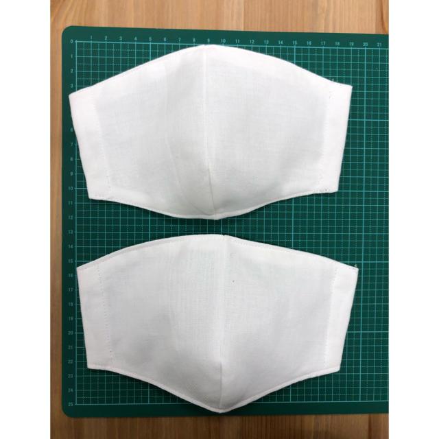 ガーゼマスク作り方立体あさイチ,【送料無料】立体 国産さらし 綿100%インナーマスク2枚セットの通販