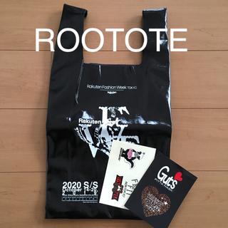 ルートート(ROOTOTE)のRFW ファッションウィーク オリジナルバッグ ルートート レザー調 未使用(エコバッグ)