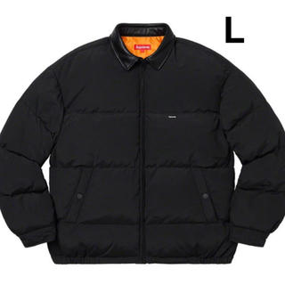 Supreme - Supreme Leather Collar Puffy Jacket