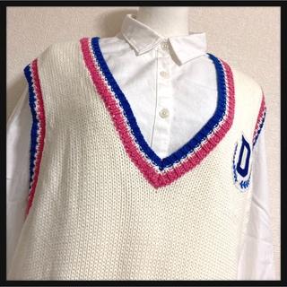 ジーユー(GU)の[GU]チュニック カットソー 虹色ストライプ 伸び伸びストレッチ LサイズOK(チュニック)