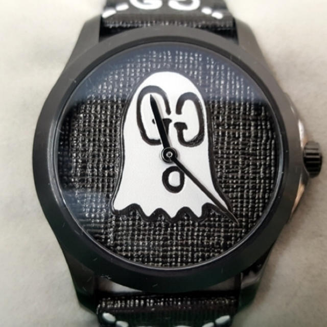 シャネル ピンク 時計 スーパー コピー - Gucci - GUCCI グッチ 腕時計 ゴースト クウォーツ USED-S 美品箱/取説有りの通販
