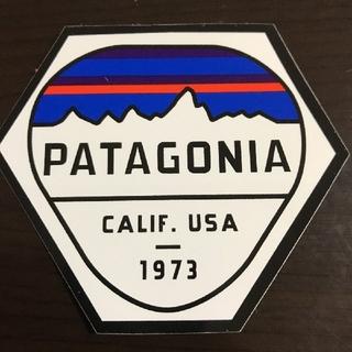 patagonia - 「縦7.5cm横8.9cm」patagonia 公式ステッカー