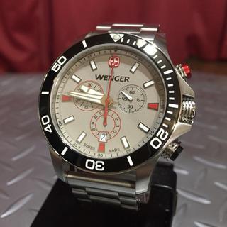 ウェンガー(Wenger)のWENGER ☆シーフォース・クロノグラフ☆         腕時計(腕時計(アナログ))