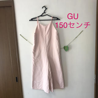 GU - GU/ジーユー/150センチ/ガールズ オールインワン サロペット