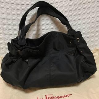 Ferragamo - フェラガモ ハンドバッグ ナイロン製