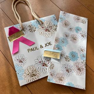 ポールアンドジョー(PAUL & JOE)のポール&ジョー プレゼント用 ラッピングセット 1セット(ショップ袋)