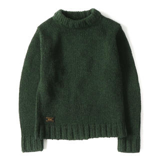 W)taps - WTAPS ARAN KNIT. WOOL カーキ