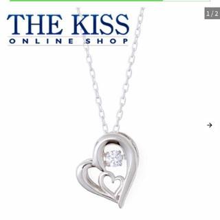 ザキッス(THE KISS)のthe kiss ダンシングストーンシルバーネックレス×限定ボックス(ネックレス)