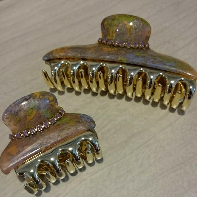 acca(アッカ)のアッカ acca クリップセット中小 ニューコラーナ マルチカラー レディースのヘアアクセサリー(バレッタ/ヘアクリップ)の商品写真