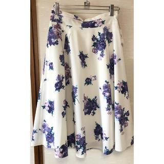 MISCH MASCH - ミッシュマッシュ タグ付き 花柄スカート