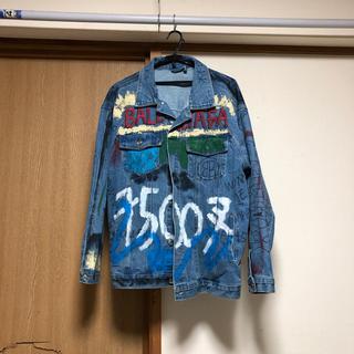 三代目 J Soul Brothers - デニムジャケット スカルレイヤードシャツ 登坂広臣 着用