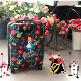 ディズニー(Disney)の【海外限定】不思議の国のアリス キャリーバッグ Where am I?(スーツケース/キャリーバッグ)