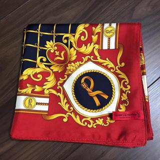 ロベルタディカメリーノ(ROBERTA DI CAMERINO)のロベルタ シルクスカーフ 未使用品(バンダナ/スカーフ)