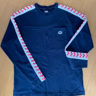 arena - arenaチームラインロゴ★長袖Tシャツ男女兼用Mサイズ speedmizuno