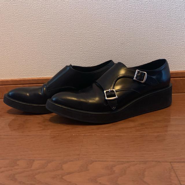 LAD MUSICIAN(ラッドミュージシャン)の期間限定値下げ LAD MUSICIAN モンクシューズ メンズの靴/シューズ(ブーツ)の商品写真
