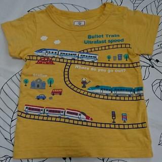 マザウェイズ(motherways)のマザウェイズ 90サイズ 新幹線Tシャツ(Tシャツ/カットソー)