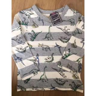 マザウェイズ(motherways)の140cm   マザウェイズ 恐竜 ロンT 綿100(Tシャツ/カットソー)