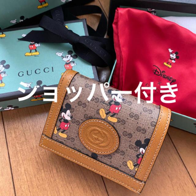 Gucci - 今季 新品 Disney × GUCCI ミッキーマウス 財布 グッチ ミッキーの通販