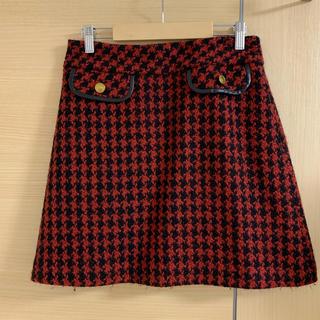 ストロベリーフィールズ(STRAWBERRY-FIELDS)の台形 スカート(ひざ丈スカート)