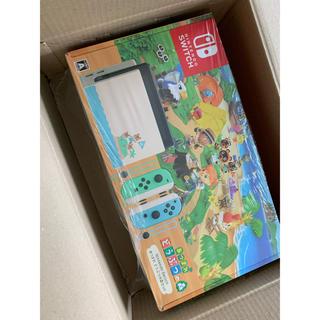 ニンテンドースイッチ(Nintendo Switch)の送料込み Nintendo Switch あつまれ どうぶつの森セット スイッチ(家庭用ゲーム機本体)