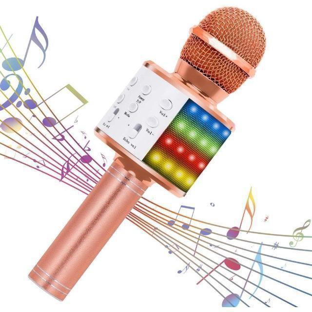Verkstar Bluetooth カラオケマイク ワイヤレスマ   楽器のレコーディング/PA機器(マイク)の商品写真