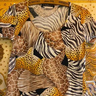 サルヴァトーレフェラガモ(Salvatore Ferragamo)のフェラガモアニマルTシャツ(Tシャツ(半袖/袖なし))