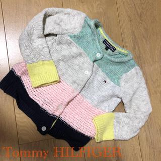 トミーヒルフィガー(TOMMY HILFIGER)の美品◆トミーヒルフィガー 80cm カーディガン(カーディガン/ボレロ)
