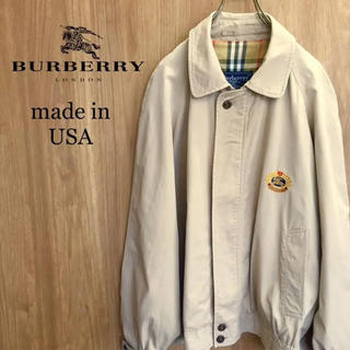 BURBERRY - 【激レア】バーバリー Burberrys ノバチェック 刺繍ロゴスウィングトップ