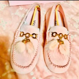 アグ(UGG)のUGG ローファースゥエード革靴♡新品未使用♡(ローファー/革靴)