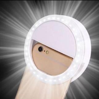 携帯 スマホ 自撮 ライト(バッテリー/充電器)